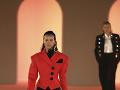Zábery z módnej šou značky Balmain