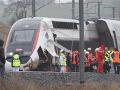 V Alsasku sa vykoľajil rýchlostný vlak TGV: Niekoľko ľudí je zranených
