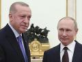 Putin a Erdogan vyzývajú na ukončenie bojov v Náhornom Karabachu