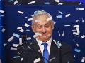 Benjamin Netanjahu je víťazom parlamentných volieb