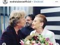 Eve Holubovej už k 61. narodeninám gratuloval aj Maroš Kramár.