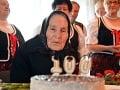 FOTO Pani Júlia oslavuje