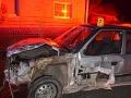 FOTO Opitý šofér ničil všetko, čo prišlo do cesty: Fúkať nechcel, v krvi mal 1,5 promile