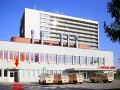 Nemocnica v Nových Zámkoch kde je vo vážnom stave hospitalizovaná manželka štátneho tajomníka Vladimíra Dolinaya