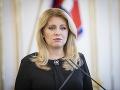 Prezidentka Zuzana Čaputová prijme zástupcov OĽaNO, Sme rodina, SaS a Za ľudí