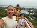Takto si Majself s rodinou užívali dovolenku v Thajsku.
