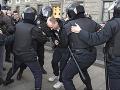 Protest proti politickým represiám v Moskve: Polícia na ňom zatkla desiatky ľudí