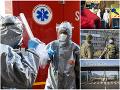 KORONAVÍRUS Slovenský boj s chorobou na fotografiách: Armáda na Kramároch a uzavretý závod