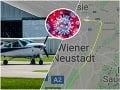 KORONAVÍRUS Rakúsky pilot vzal veci do svojich rúk: Odkaz celému svetu, pozrite, čo napísal na oblohu