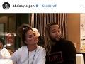 Chrissy Teigen a John Legend