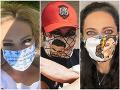 Celebrity vytiahli originálne ochranné