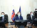 Igor Matovič na prvom rokovaní vlády