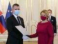 Roman Mikulec ako nový minister vnútra