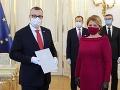 Milan Krajniak ako nový minister práce