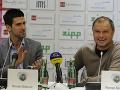 Novak Djokovič a Marián Vajda
