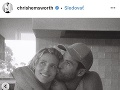 Chris Hemsworth s manželkou