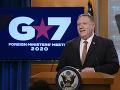 KORONAVÍRUS Pompeo: Lídri G7 sa zhodli, že Čína šíri dezinformačnú kampaň o víruse