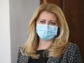 KORONAVÍRUS Prezidentka Čaputová pripomína, že v čase epidémie treba myslieť aj na duševné zdravie