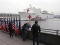 KORONAVÍRUS Do New Yorku priplávala nemocničná loď: Kotvila tu aj po útokoch z 11. septembra