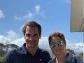 Roger Federer a Mirka Federer
