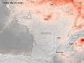 KORONAVÍRUS Satelitné FOTO odhalili
