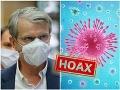 KORONAVÍRUS Mistrík vyvracia internetový HOAX: Člen krízového štábu prehovoril o firme na testy z Košíc