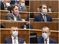 KORONAVÍRUS Parlament zasadá aj dnes: Kotleba s Blahom s výbormi neuspeli ani tretíkrát