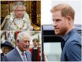 Princ Harry už zrejme oľutoval svoj odchod: Strach o otca a babičku... Meghan nemá ani tušenie!