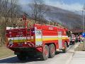 VIDEO Hasiči v katastri Oščadnice lokalizovali dve z troch ohnísk požiaru rúbaniska