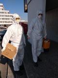 Hasiči neustále v pohotovnosti: Zábery z karanténneho zariadenia v Gabčíkove