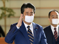 KORONAVÍRUS Japonský premiér Šinzó Abe vyhlásil v krajine núdzový stav
