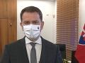 KORONAVÍRUS Matovič mal deň pred veľkou uzávierkou prejav: VIDEO Slovákov prosil o zodpovednosť
