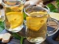 Horúca voda s citrónom