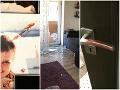 Scéna ako z hororu: Krvavé stopy na FOTO, populárneho slovenského dídžeja doma prepadli!