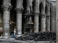 Katedrála Notre-Dame ožila: Tesne pred smutným výročím sa v nej zišli kňazi a veriaci
