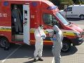 KORONAVÍRUS FOTO Hasiči vykonávali testovanie osôb na ôsmich miestach v rámci Slovenska