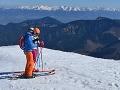 Aprílová nádielka na horách: V najvyšších polohách slovenských hôr pripadol nový sneh