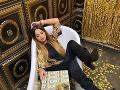 Zuzana Plačková si rada užíva luxus.