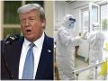 KORONAVÍRUS Trump viní Čínu z celosvetového chaosu: Vírus mal vzniknúť v laboratóriu, preveríme to
