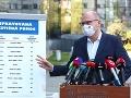 KORONAVÍRUS Sulík prišiel s novým investičným plánom: Firmy musia kopnúť do vrtule, odkázal im