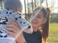 Jasmina Alagič so synčekom Sanelom.