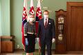 FOTO Predseda parlamentu Boris Kollár prijal veľvyslankyňu USA Brinkovú