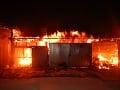 FOTO Hasiči v Bolešove boli v plnom nasadení: Likvidovali požiar píly a prístrešku