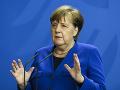 Nemecké predsedníctvo v EÚ sa podľa Merkelovej bude venovať pandémii i klíme