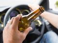 Na cestách bolo zase veselo: Vodič pri kontrole vypadol z auta, nafúkal takmer 2,7 promile