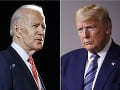 Joe Biden a Donald