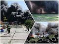 Rozsiahly požiar vo Vrakuni sa už podarilo lokalizovať: VIDEO V okolí behali splašené kone!