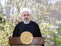 Irán by nikdy nezaútočil ako prvý na USA, vyhlásil prezident Rúhání