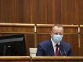 Parlament dnes pokračuje v rozprave: Sloboda už po včerajšom zvolení odstúpil z funkcie šéfa výboru