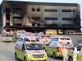 Hrozivý požiar na stavenisku na severe Južnej Kórey: O život prišlo najmenej 36 ľudí